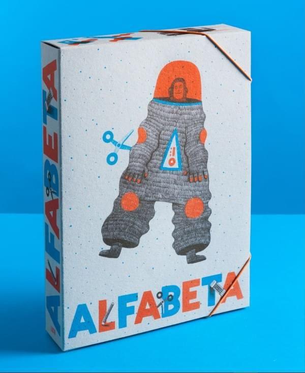Interaktivní knižní hra pro děti - Alfabeta