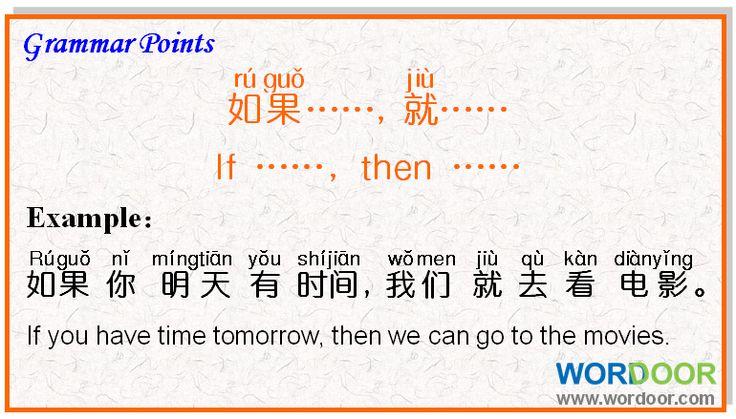 Wordoor Chinese - Grammar points #chinese #mandarin ...