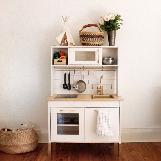 Good Ikea Duktig Play Kitchen Makeover, Mint | Ikea Hack | Pinterest | Plays,  Kitchens And Playrooms