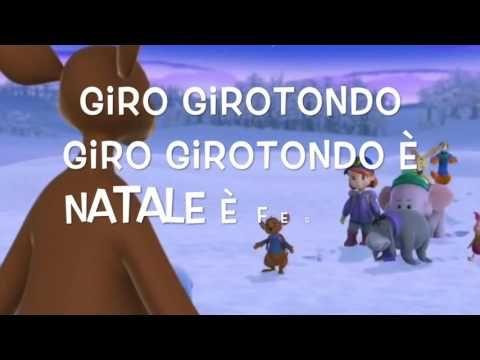 Buon Natale Rap 5 B.Girotondo Di Natale Testo Youtube Lavoretti Asilo Christmas