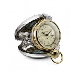 Arata-i nasului de botez ce repede trece timpul cand ai grija de copii cu un cadou personalizat pt nasul de botez, un ceas de birou St. ELMO Dalvey