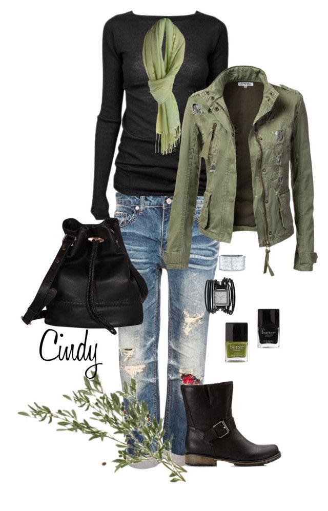 """""""Fall / Winter"""" by cindy32tn ❤ liked on Polyvore featuring Pull&Bear, Rick Owens, Decree, Dinny Hall, Tiffany & Co., Forever 21, Joie and Butter London"""