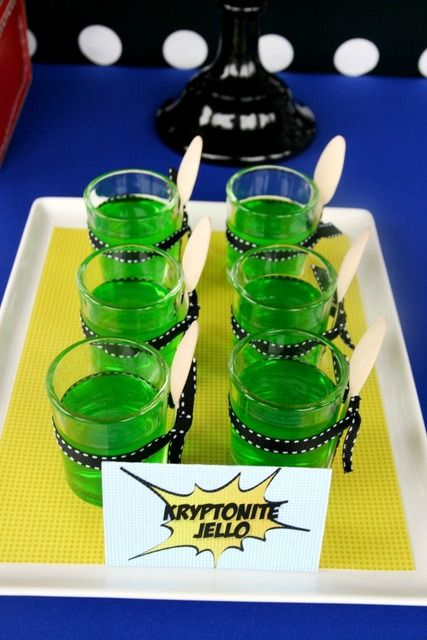Vintage Superhero Birthday Party Ideas | Photo 2 of 43 | Catch My Party