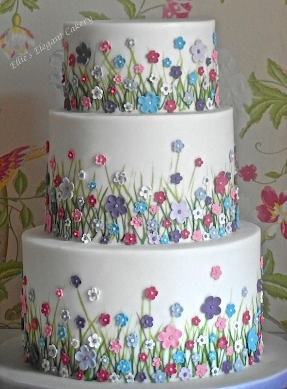 471 best Garden Cakes images on Pinterest Garden cakes Flower