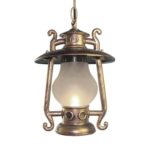 Lnc Antique Outdoor Pendant Light Outdoor Lighting With 1 Light Frosted Glass Shade