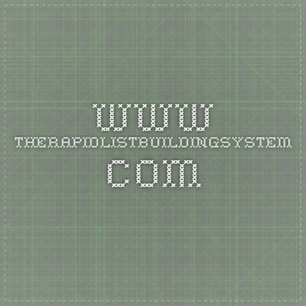 www.therapidlistbuildingsystem.com  #therapidlistbuildingsystem #listbuilding #leads #leadgenerating #rapidlistbuilding
