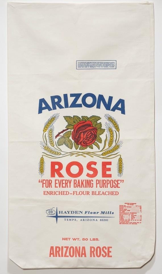 Vintage Flour Sack Future Flour Pinterest