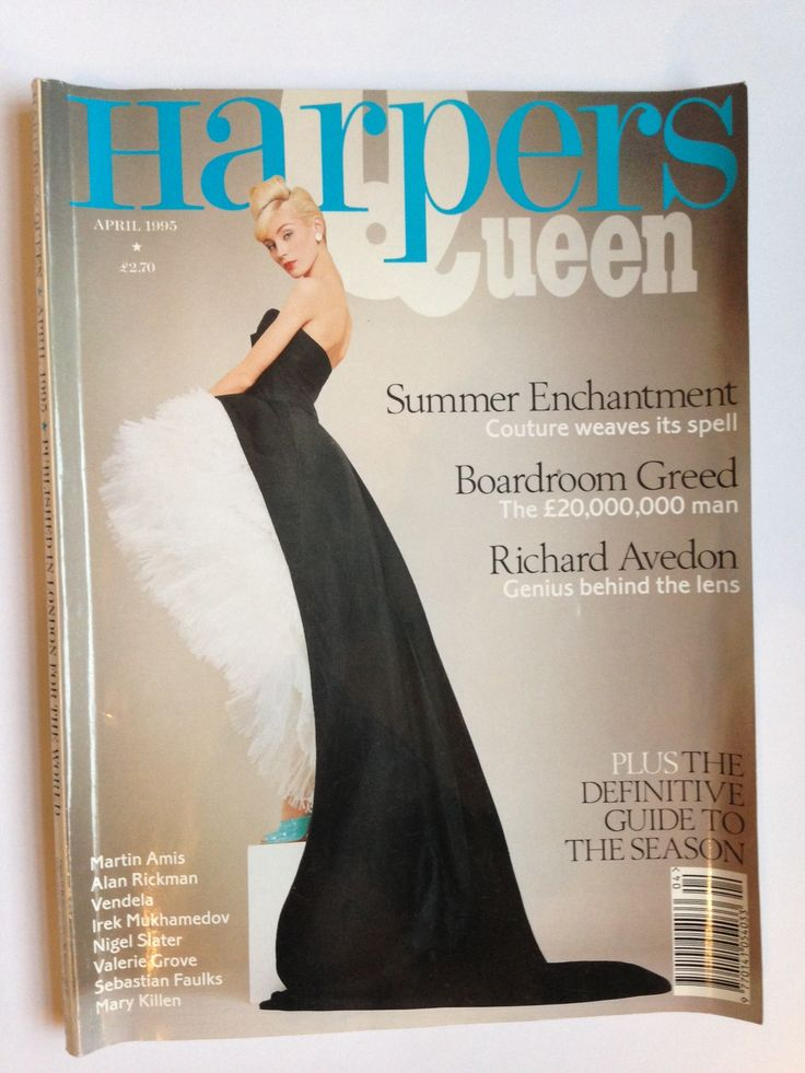 Another issue of Harper's that I worked on