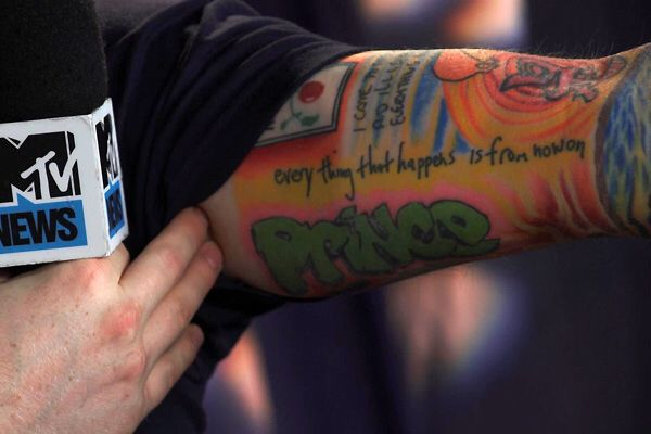 Ed Sheeran, will always love this tattoo.