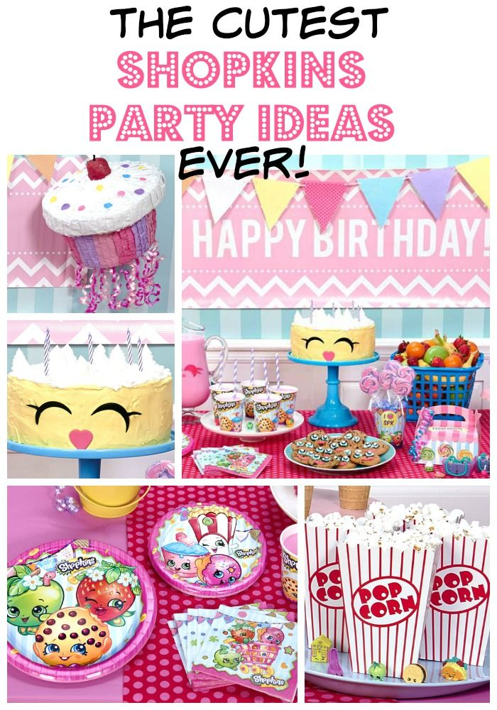 99 best Shopkins Party Ideas images on Pinterest Birthdays