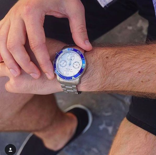 Time is set on Friday😎 #LW40 www.larsenwatches.com