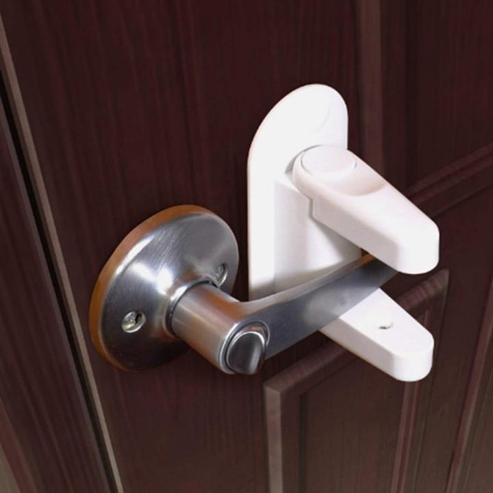 Baby And Children Safety Lock Door Lever Child Proofing Doors