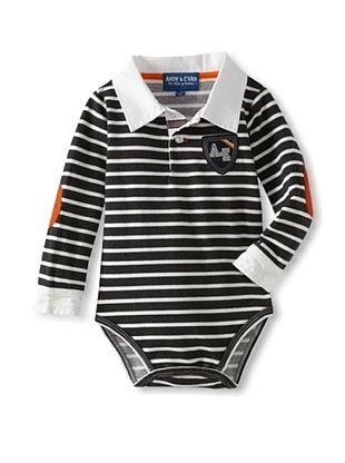 55% OFF Andy & Evan Baby Garrahan Polo (Dark Grey)