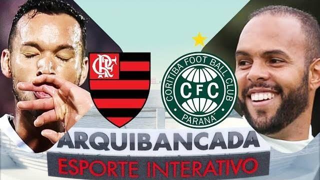 🔴 Esporte Interativo está ao vivo: FLAMENGO X CORITIBA - NARRAÇÃO AO VIVO - CAMPEONATO BRASILEIRO
