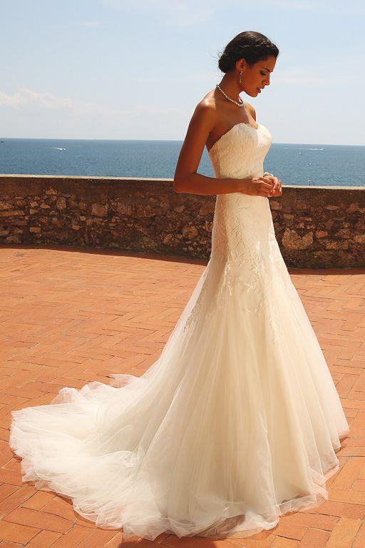 Robe de mariée Linea Raffaelli Versailles TOMBé DE LA ROBE