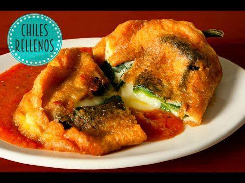Chiles Rellenos (Cocina Mexicana) - YouTube