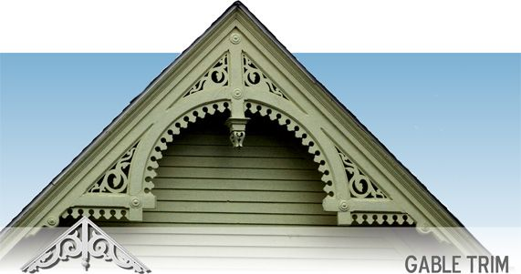 33 Best Victorian Gable Trim Images On Pinterest