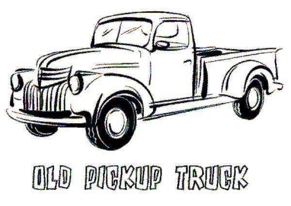 Pickup Truck Coloring Pages Printable Free Coloring Sheets Truck Coloring Pages Old Pickup Trucks Pickup Trucks