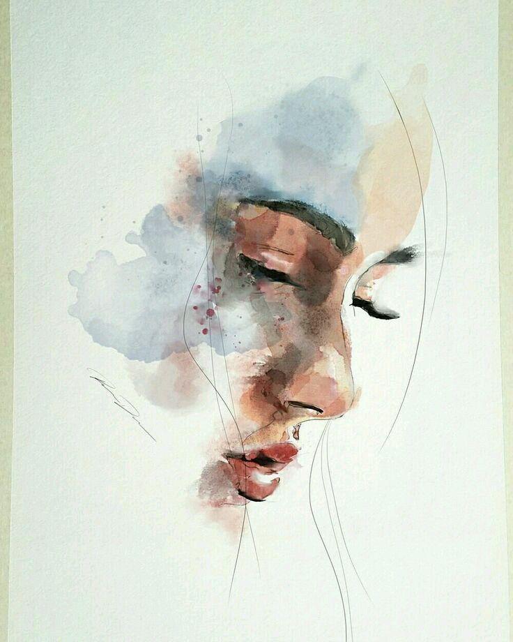 Lukisan Cat Air : lukisan, BROKENHOME, [LENGKAP], Lukisan, Ilustrasi, Lukisan,