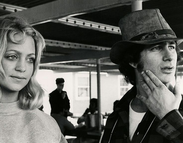 Spielberg on the set of The Sugarland Express
