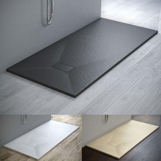 Piatto doccia in Glasstone in 3 colori disponibile in ...