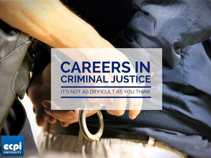 Good Criminal Justice Careers: Itu0027s Not As Difficult As You Think