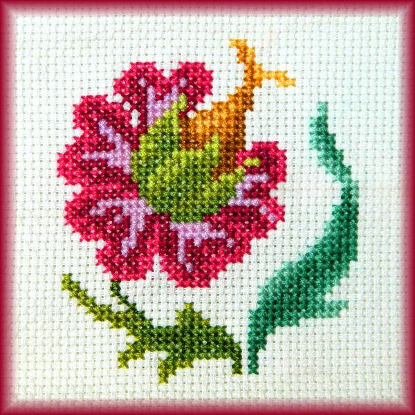 Lille blomster motiv, fx til kort..