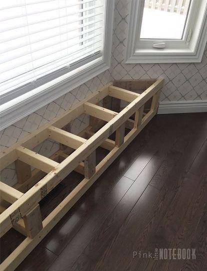 DIY Built-in Window Bench