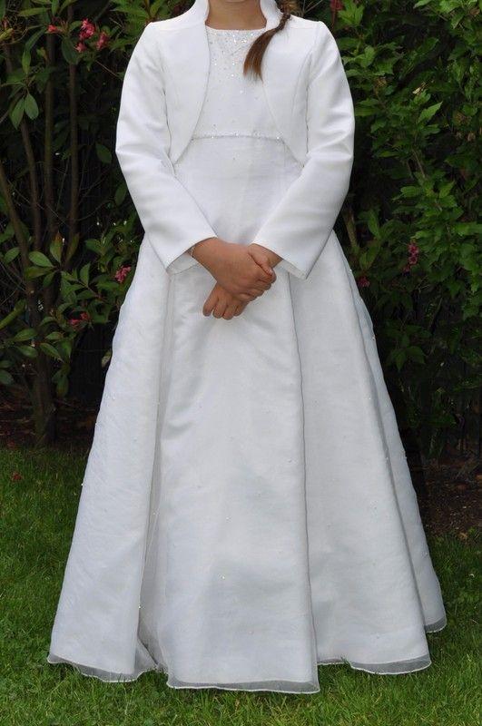Emmerling Kommunionkleid Bolero-Jacke mit Stehkragen