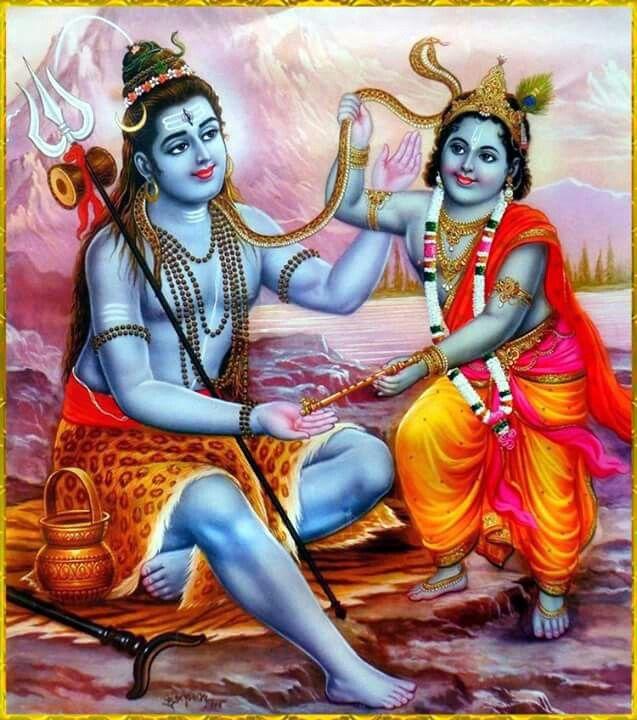 ♥♥♥Jai Shiv & Krishna Bhagwan ♥♥♥