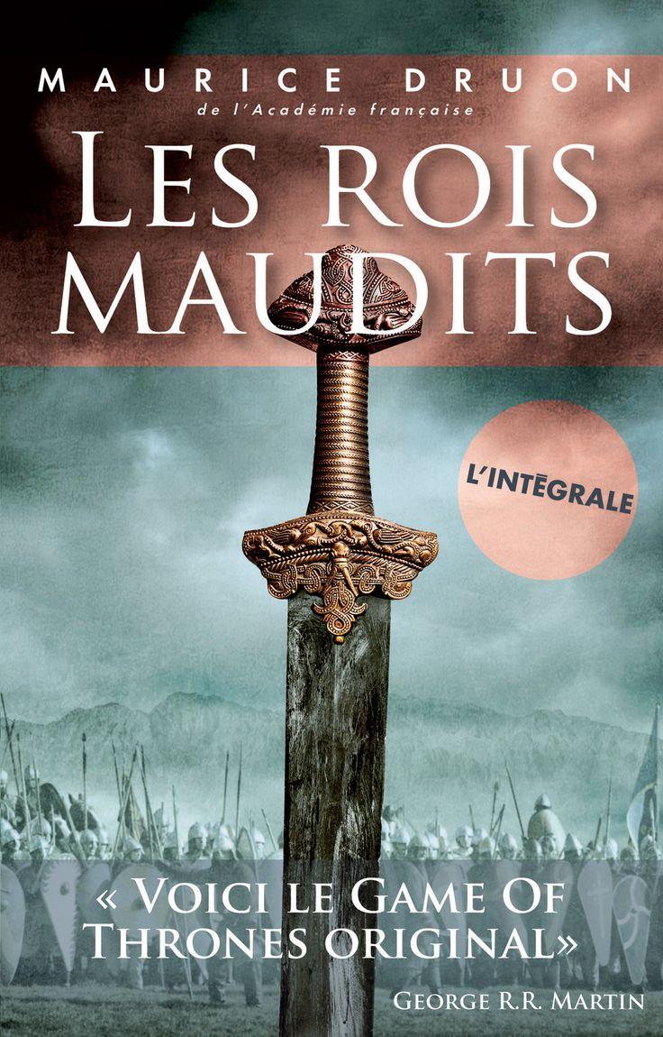 Les rois maudits - L'intégrale - Maurice Druon #Histoire #livre #Roman #littérature #book