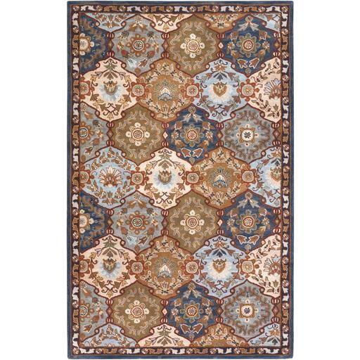 Caesar CAE-1032 Gray Damask Rug  #rugs #decor #fab #interiorstyling #dreamhome #trendy #floorcoverings #homedecor #decorating #carpet