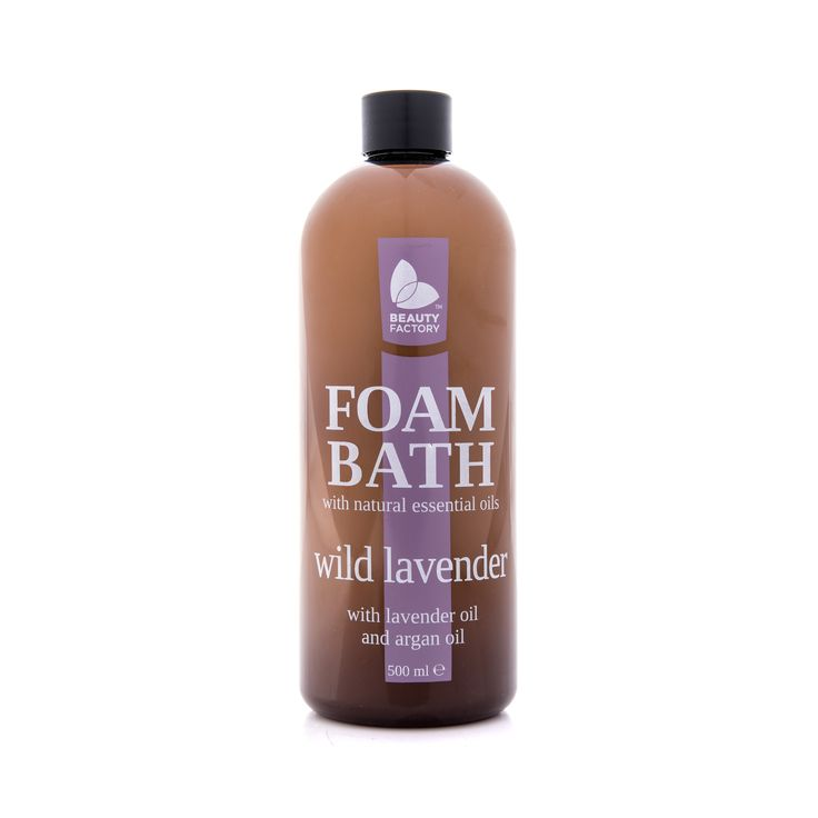 BATH OIL WITH LAVENDER OIL AND ARGAN OIL  Wild Lavender calms the mind with the added comfort and warmth of juniper and bergamot. With added essential oils of lavender and argan, your skins natural moisture levels are restored, leaving the skin with increased hydration. Wild Lavender Foam Bath 500ml | GoodiesHub.com
