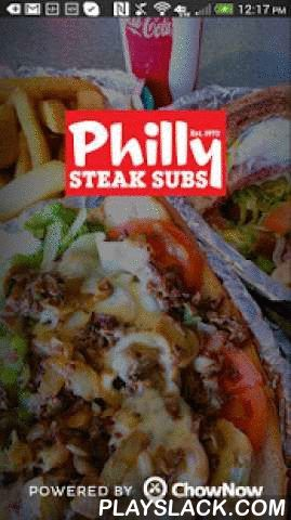 Philly Steak Subs  Android App - playslack.com ,  When you're hungry, the last thing you want to do is wait on hold, repeat your credit card number and get disconnected. With Philly Steak Subs's app, ordering to-go has never been easier. All you do is order your favorites, share any special instructions and even tip in seconds. A push notification will alert you when you order will be ready. Plus, all of your orders will be saved in your profile for future reference.Features:-Full menu…
