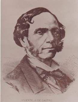 Vicente Antonio de Castro y Bermudez (1809 - 1869) , precursor de la independencia de Cuba y la anestesiologia en Latinoamerica.