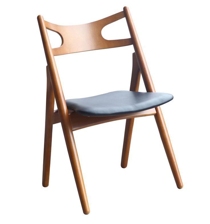 Midcentury Modern Style Folding Chair, Walnut