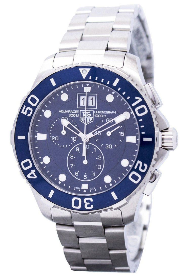Tag Heuer Aquaracer Chronograph Grande Date Can1011.ba0821 Men's Watch (FREE Shipping)