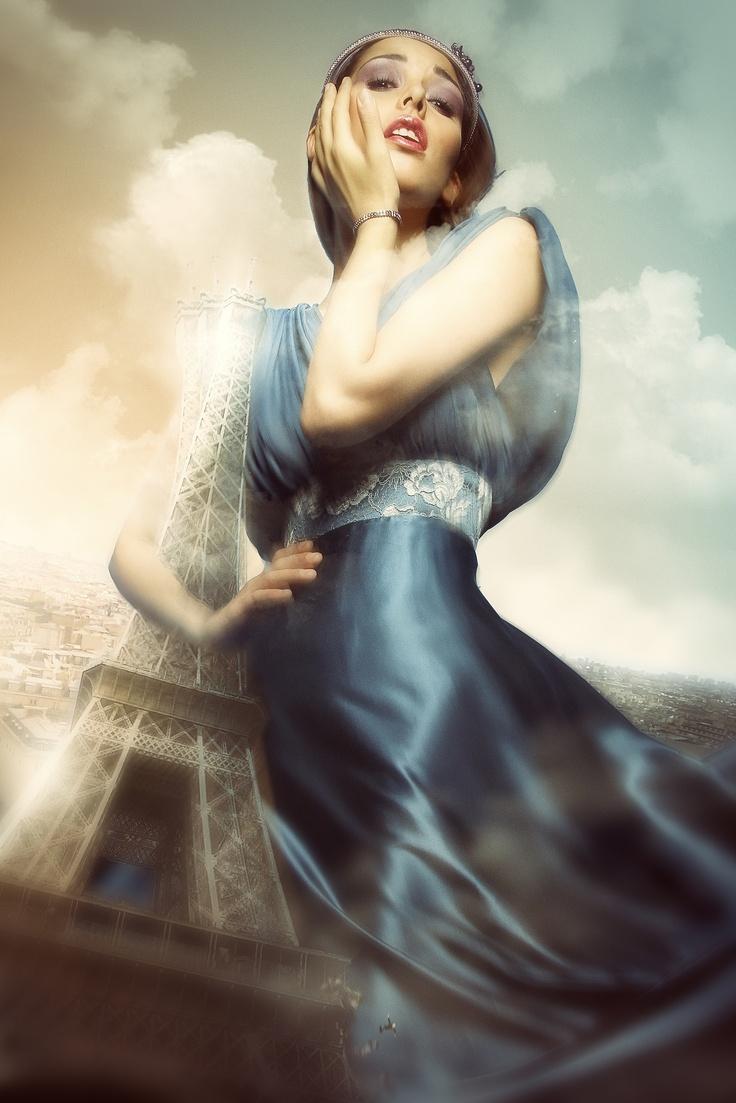 Paris is mind !!  Photoshop - 2012  Plus de travaux sur   ==> www.cubriks.com