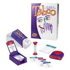 Taboo Word Guessing Game