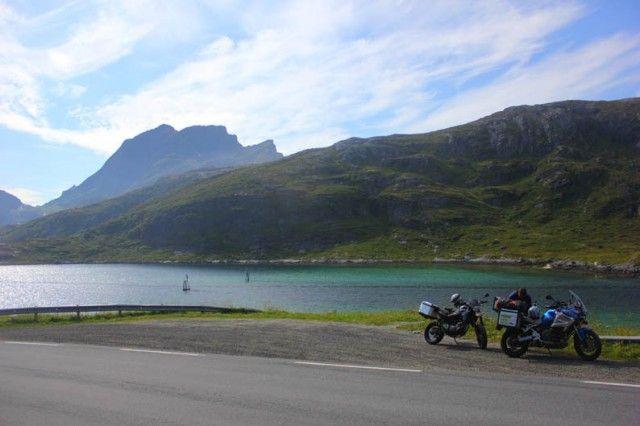 Viaje a Escandinavia en moto.