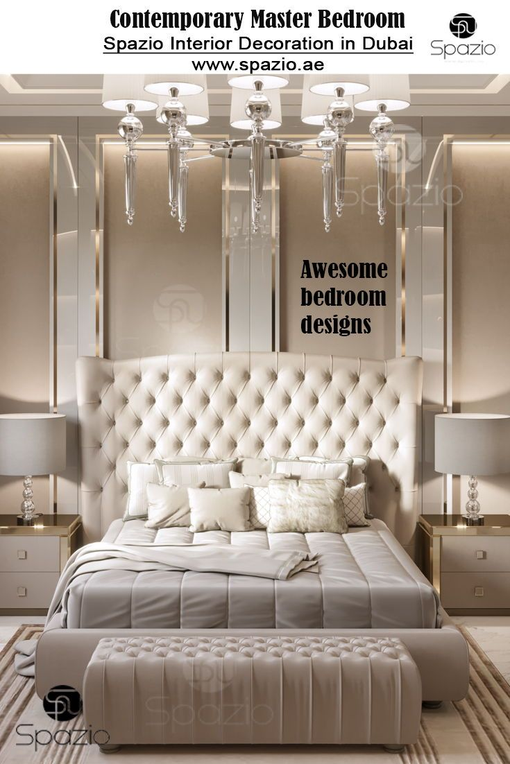 Bedroom Interior Design In Dubai Master Bedroom Interior Design