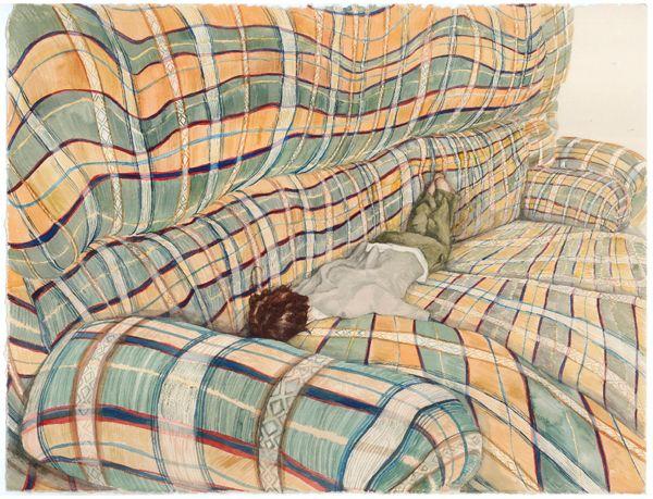 'tartan asphyxiation' by Monica Rohan, exhibiting at Spiro Grace Art Rooms (SGAR) 14 September — 13 October 2012