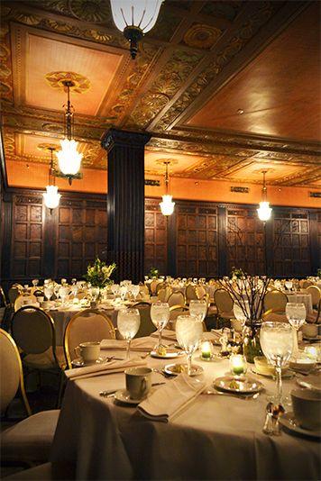 English Oak Room - Cleveland Wedding Reception 2003