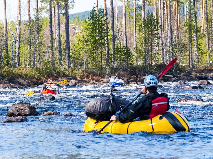 Swedish Packrafting Round - Voxnan river