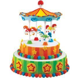carousel birthday cakes ideas | Circus Carousel Cake
