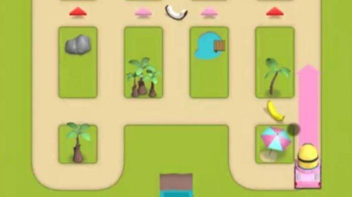 Тропический Minion это логическая головоломка, в которой фаворитами должны доставить вкусные фрукты с грузовиком, который соответствует его цвет на соответствующий завод. Это может показаться простым, но дело в том, что когда-то дорога используется один миньон, он не может больше использоваться другим. Это, как говорится , пронизывая другой маршрут на перекрестках , конечно, по-прежнему разрешено.  Источник: http://games-topic.com/104-tropical-minion.html