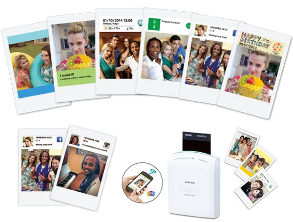 Instax Share, una pequeña impresora que convierte cualquier foto digital en una preciosa instantánea.