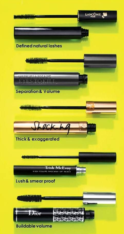 Our mascara wardrobe: Lashes for every mood.