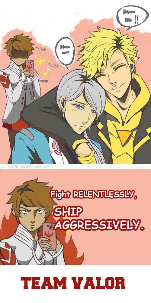 A Blog for Pokemon Go; Blanche X Spark Shipping : Photo