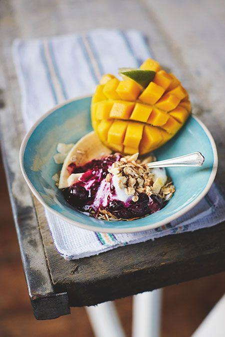 Best 25 jamie oliver breakfast ideas on pinterest jamie olivers toasted oats mango blueberries yogourt ccuart Gallery